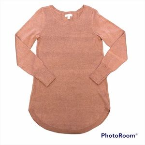 CAMBER & GRACE soft salmon coloured sweater